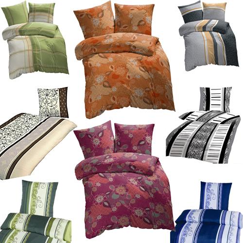 feinste mikrofaser bettw sche 135x200cm 80x80cm riesen. Black Bedroom Furniture Sets. Home Design Ideas