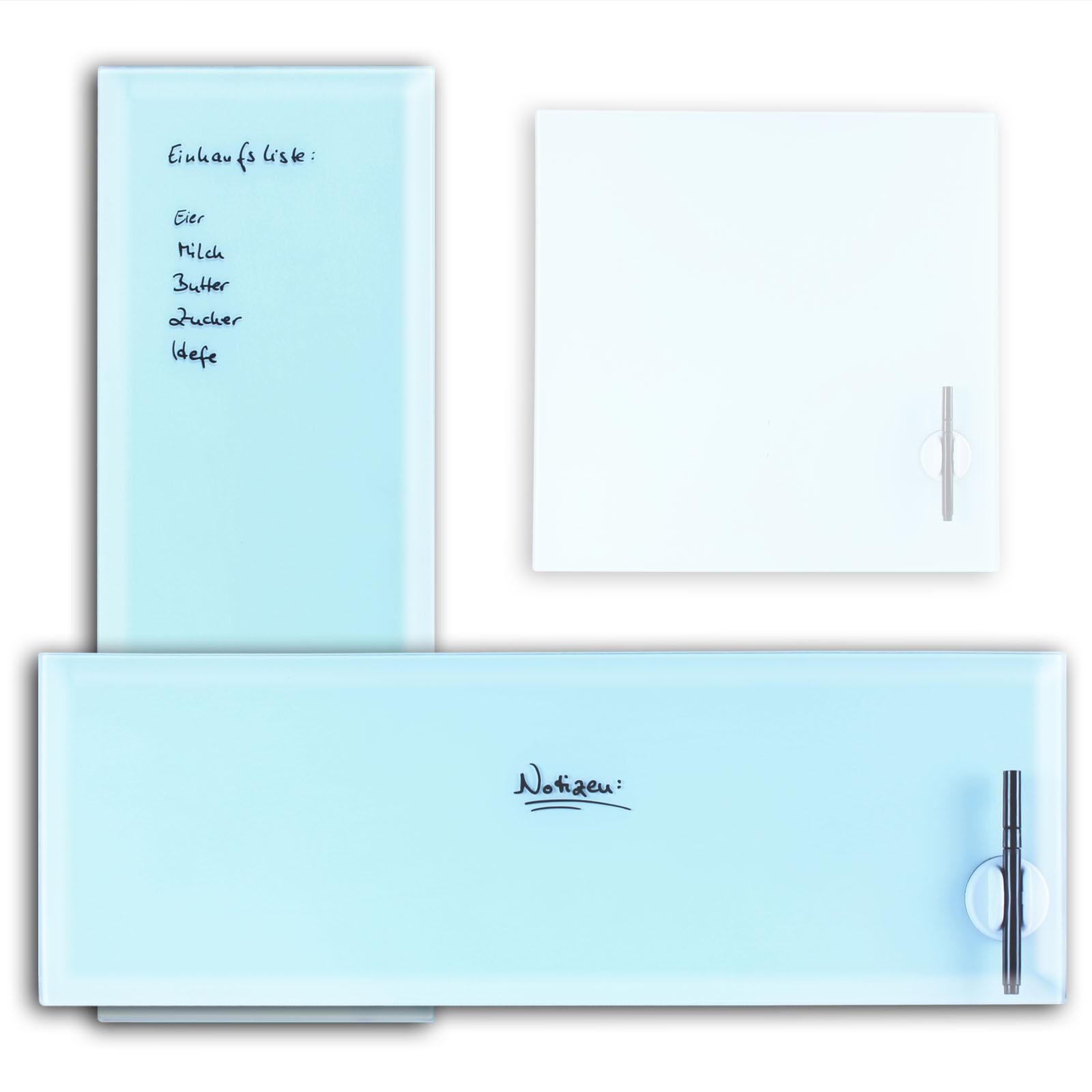 glas magnettafel magnetboard memoboard magnet tafel pinnwand whiteboard. Black Bedroom Furniture Sets. Home Design Ideas