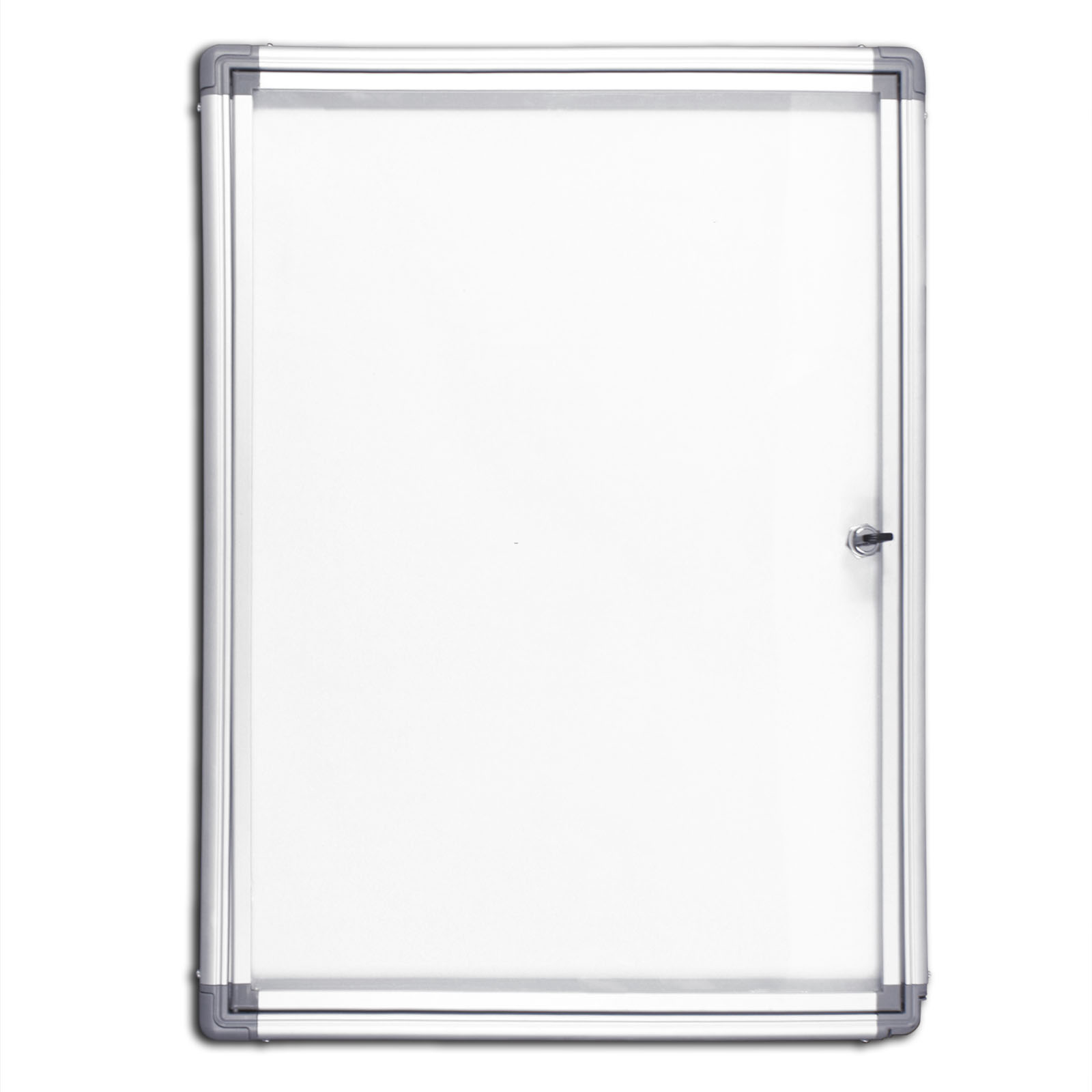 schaukasten flachschaukasten infokasten vitrine mit whiteboard magnettafel innen ebay. Black Bedroom Furniture Sets. Home Design Ideas