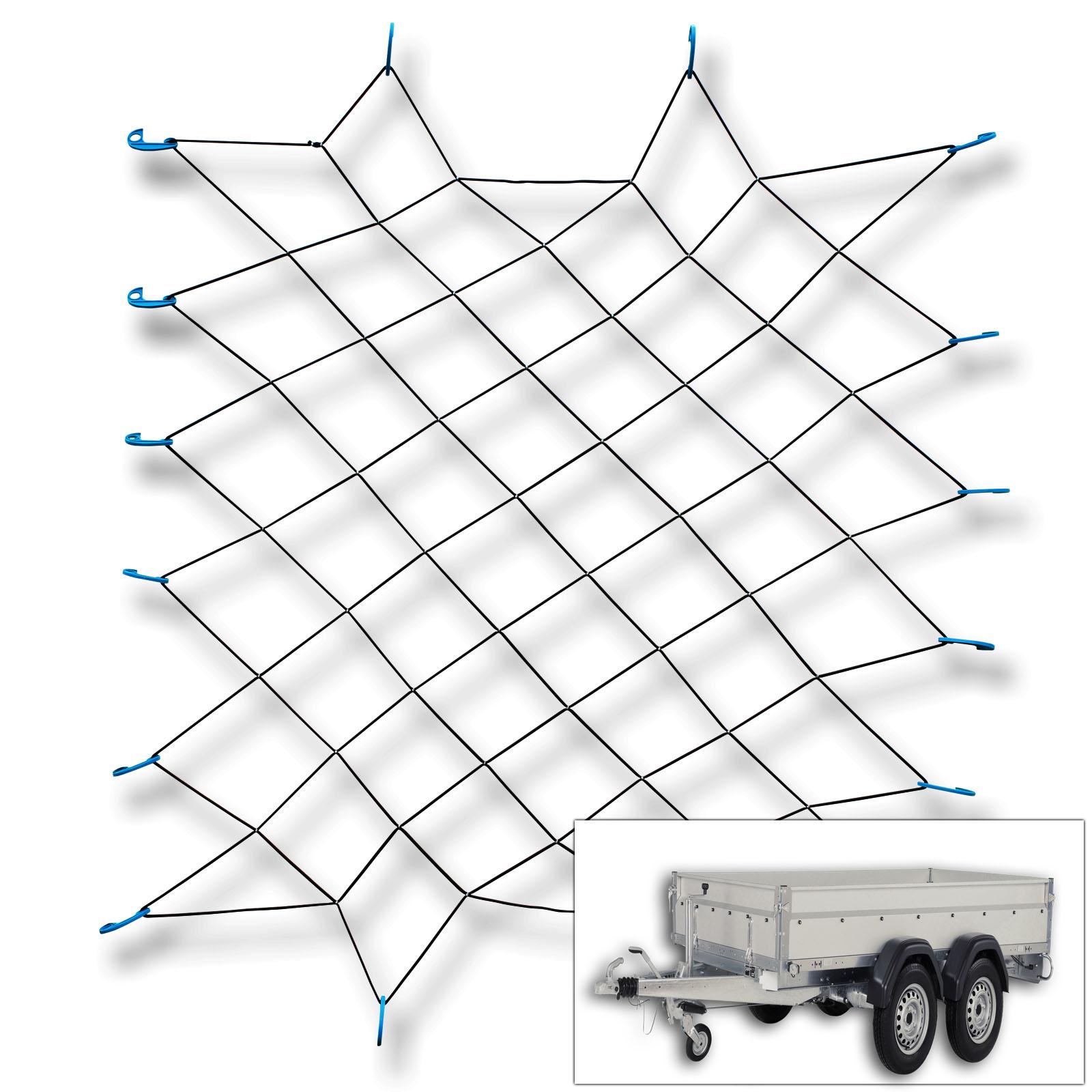 1 Gepäcknetz mit<br> 16 Haken (90cm x<br>150cm )