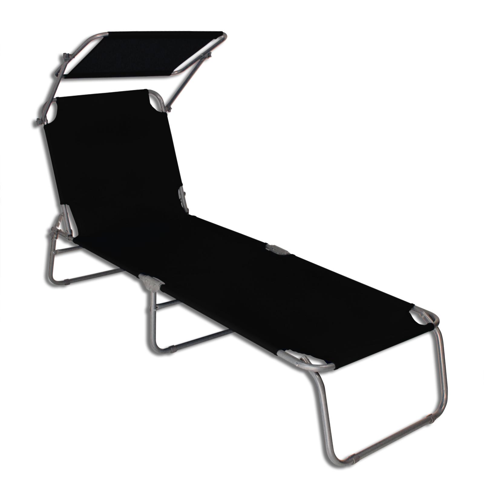 Transat transat avec pare soleil plage chaise longue de for Chaise longue transat solde