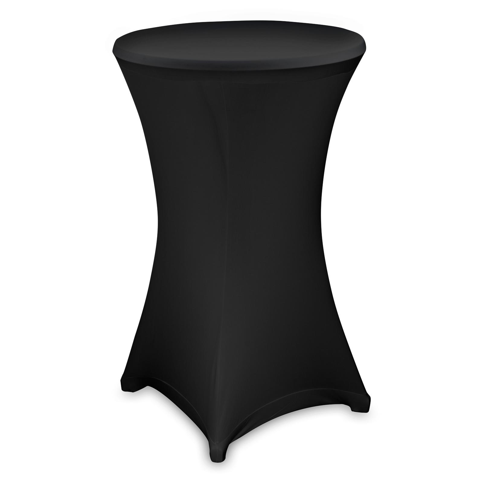 stehtischhussen stretch husse f r stehtisch bistrotisch. Black Bedroom Furniture Sets. Home Design Ideas