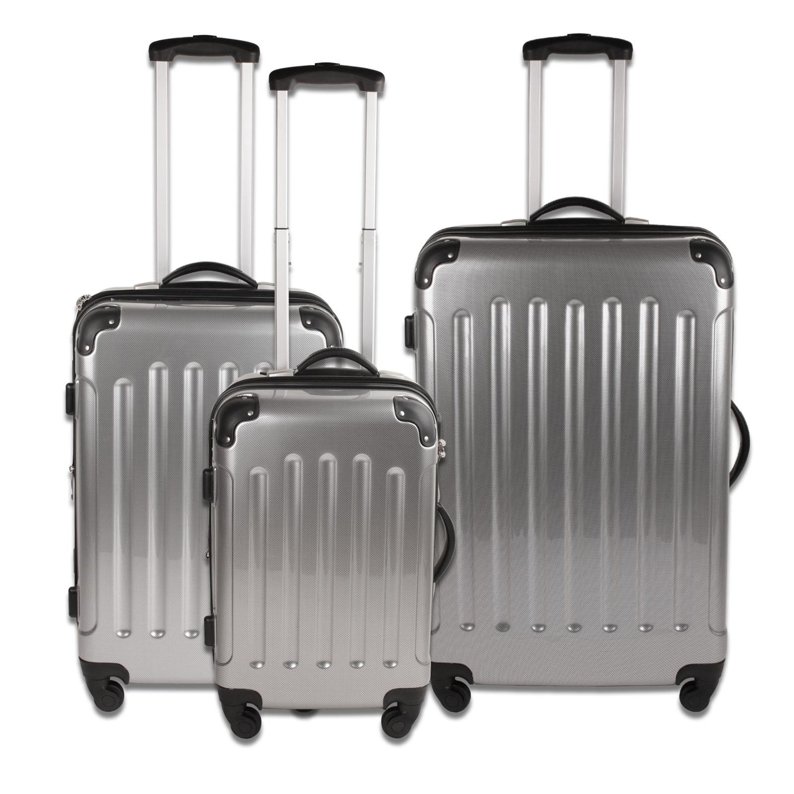 trolley kofferset 3 teilig bestseller shop mit top marken. Black Bedroom Furniture Sets. Home Design Ideas