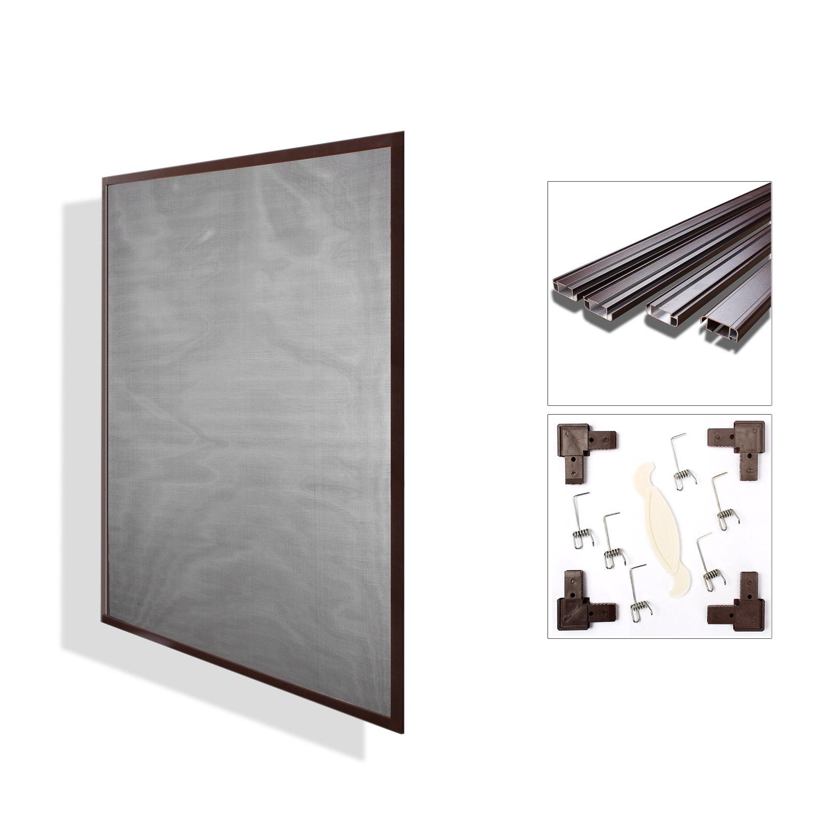 fliegengitter insektenschutz mosquitonschutz alurahmen 4 gr en 2 farben. Black Bedroom Furniture Sets. Home Design Ideas