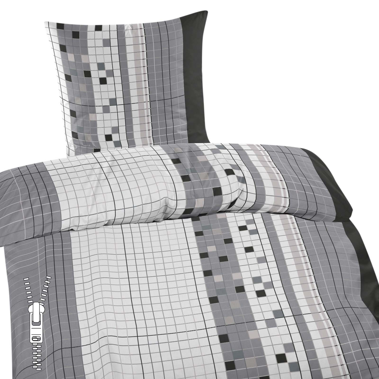 feinbiber bettw sche 135x200cm 80x80cm in verschiedene. Black Bedroom Furniture Sets. Home Design Ideas
