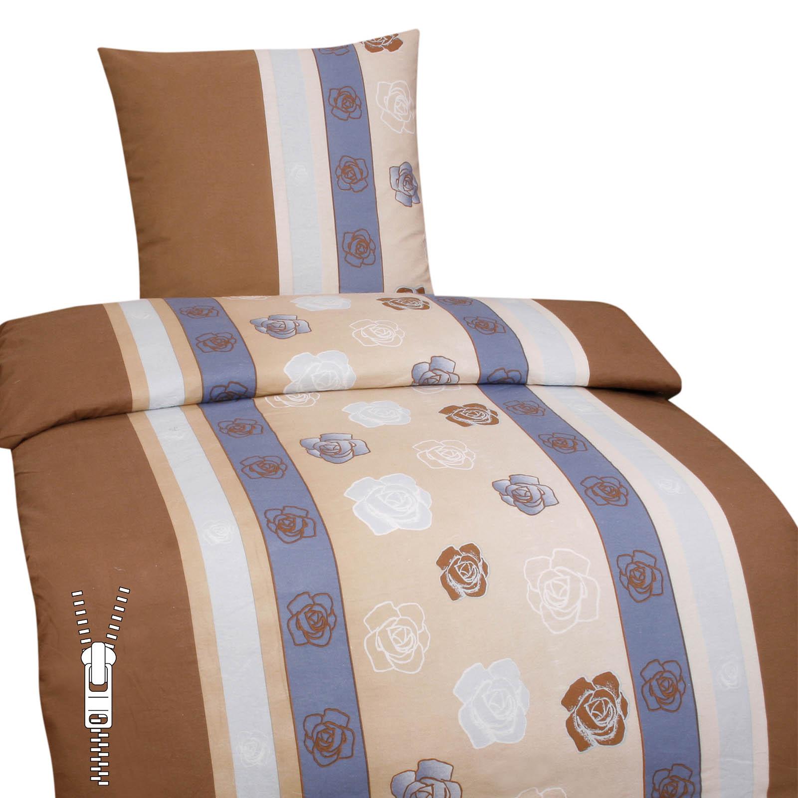 feinbiber bettw sche 135x200cm 80x80cm in verschiedenen. Black Bedroom Furniture Sets. Home Design Ideas