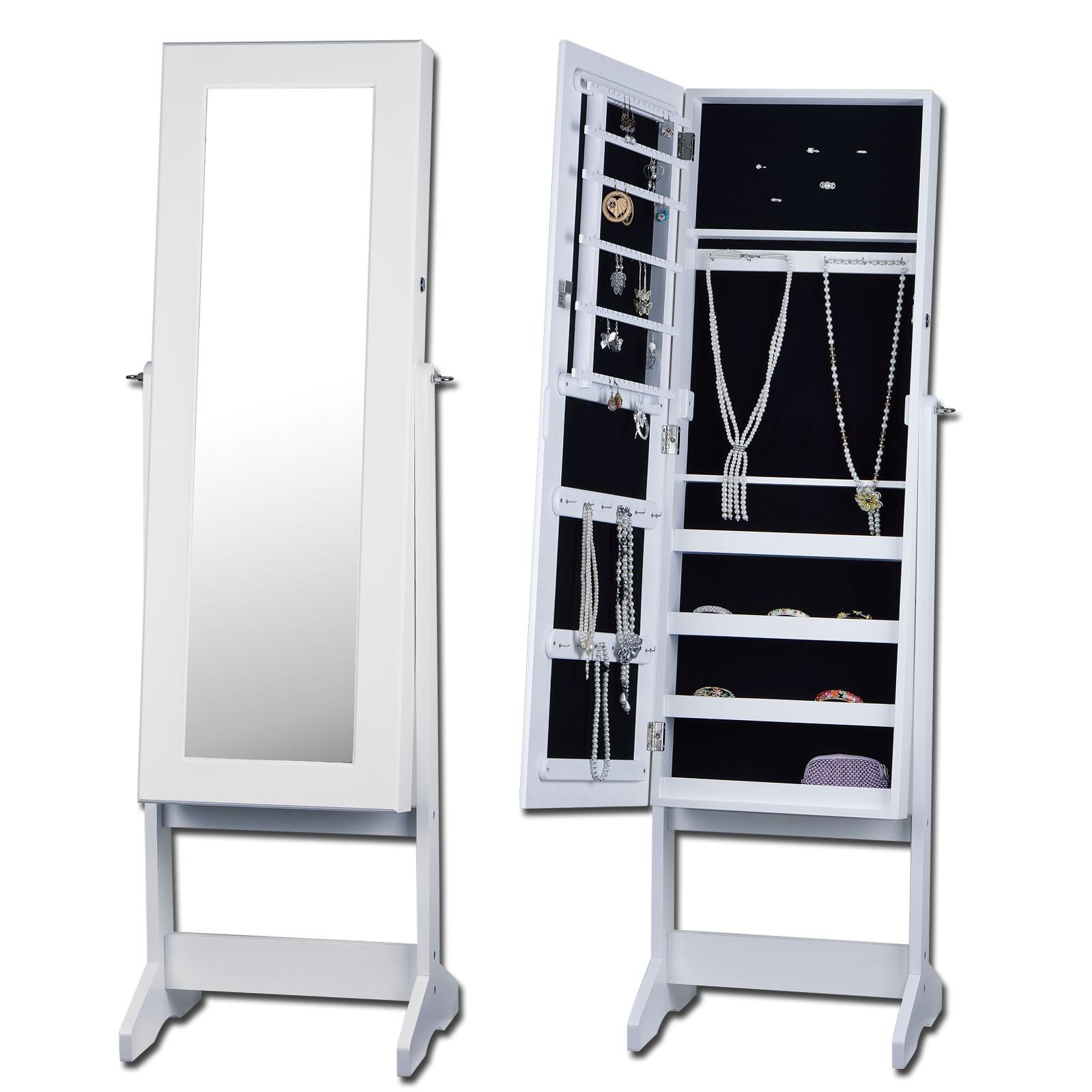 spiegel schmuckschrank spiegelschrank standspiegel schmuck. Black Bedroom Furniture Sets. Home Design Ideas