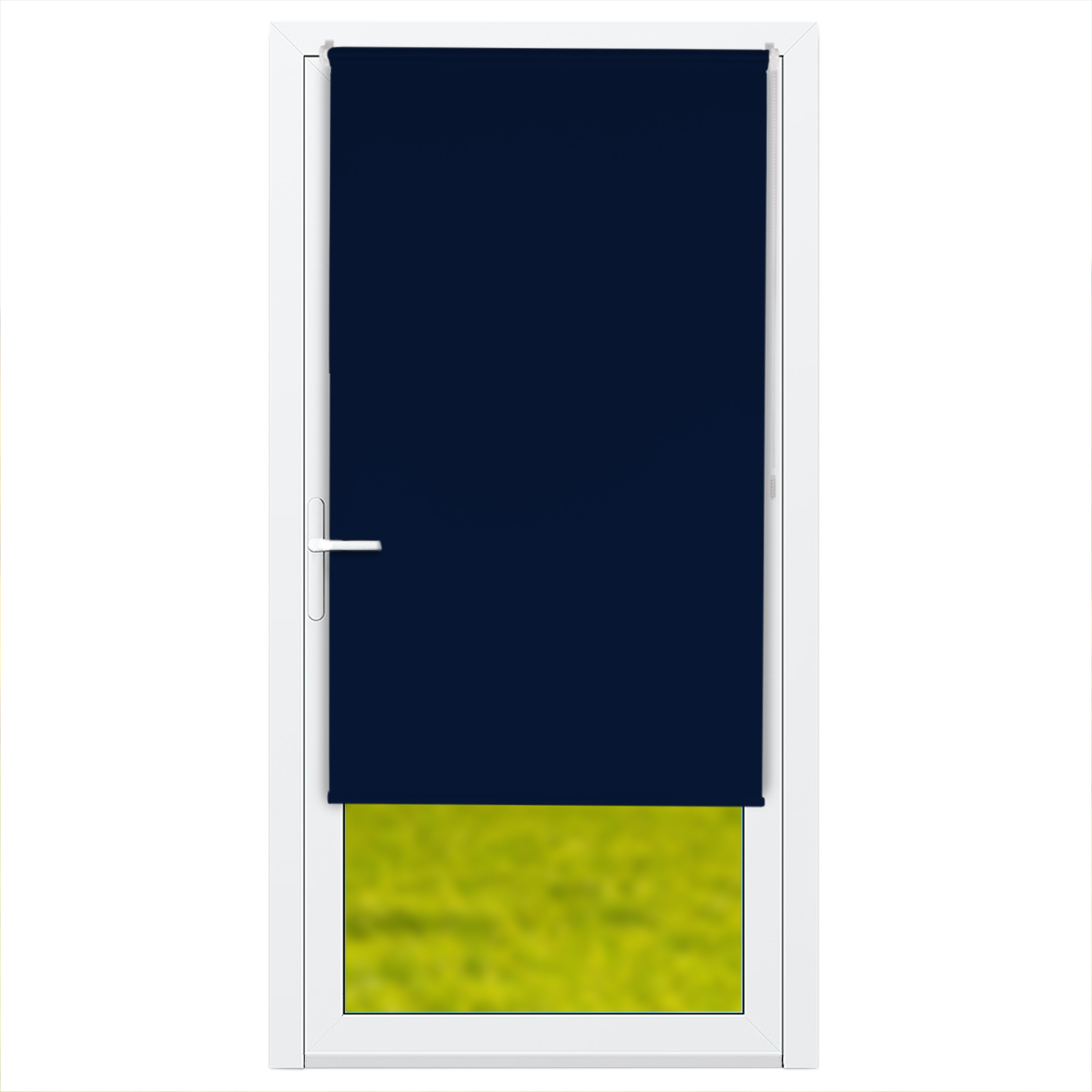 verdunkelungsrollo t r in verschiedenen farben breiten. Black Bedroom Furniture Sets. Home Design Ideas