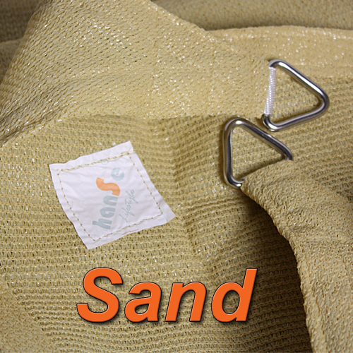 hanSe® Marken Sonnensegel Rechteck Trapez Sonnenschutz Beschattung Segel