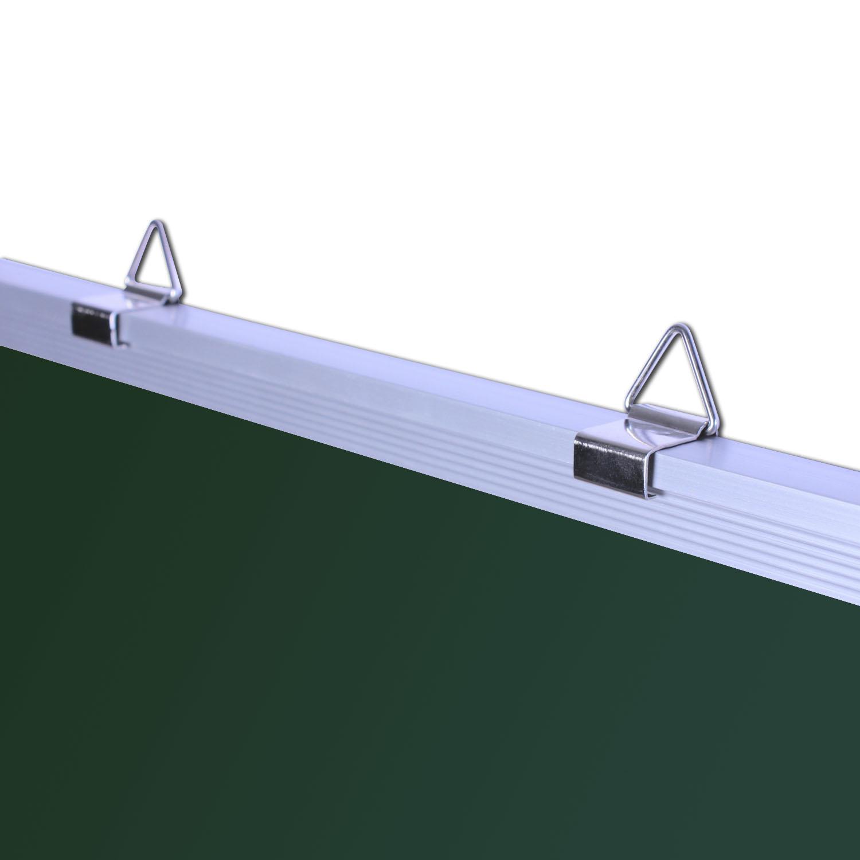 kreidetafel 90x60cm tafel schultafel schreibtafel magnettafel gr n magnetisch ebay. Black Bedroom Furniture Sets. Home Design Ideas