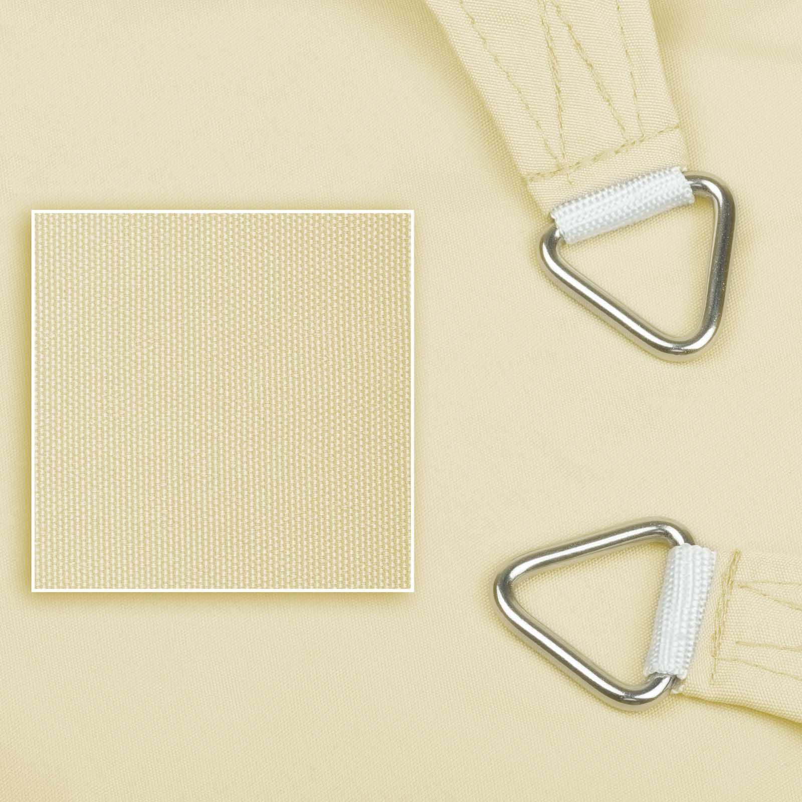 hanse marken sonnensegel wasserabweisend 100 polyester ebay. Black Bedroom Furniture Sets. Home Design Ideas