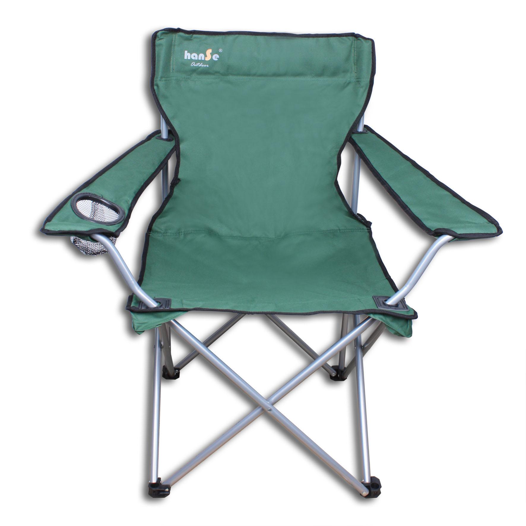 hanse klappstuhl campingstuhl faltstuhl bis 100kg gr n. Black Bedroom Furniture Sets. Home Design Ideas
