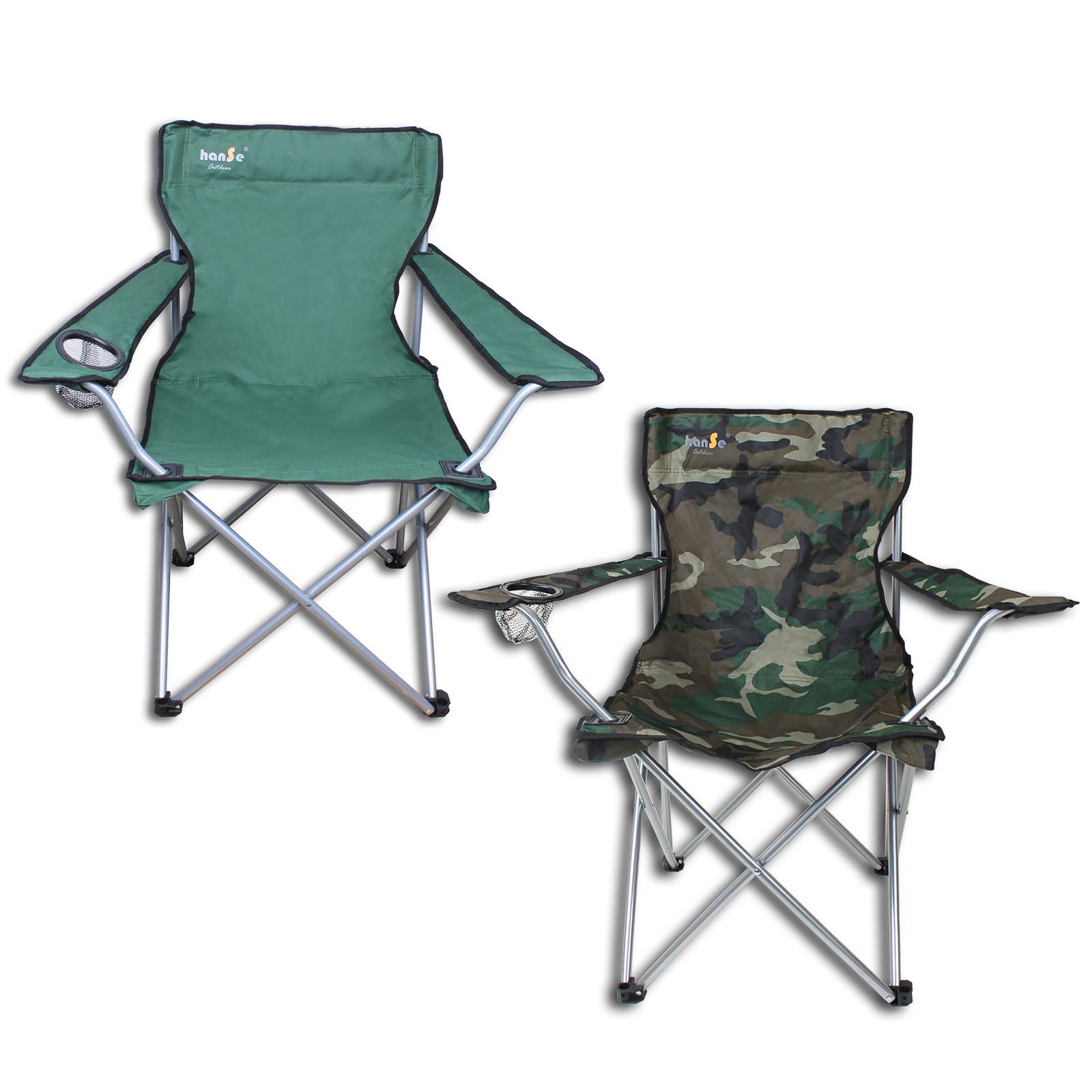 Chaise Pliante De Camping Jusqua 100kg Vert Ou Camouflage