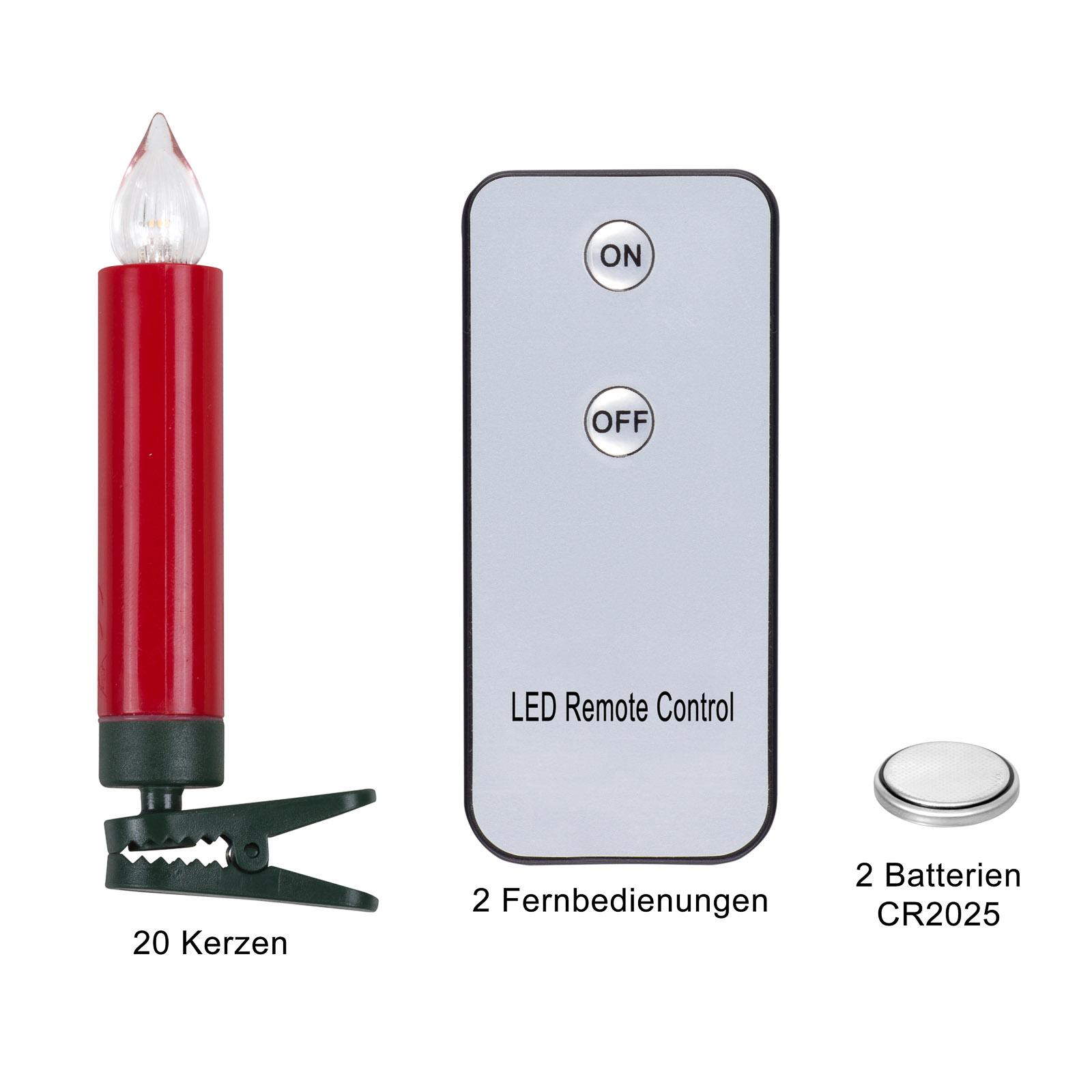 Kabellose Led Kerzen : kabellose rgb led kerzen weihnachtskerzen rot ebay ~ Watch28wear.com Haus und Dekorationen