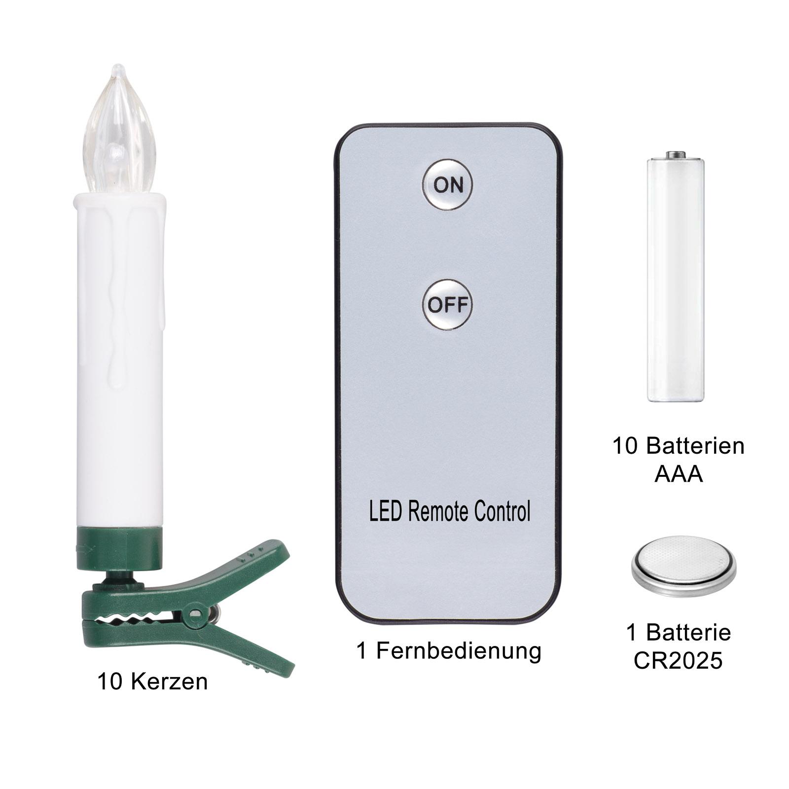 ledkerzenAB_3 Wunderschöne Led Lichterkette Kabellos Mit Fernbedienung Dekorationen
